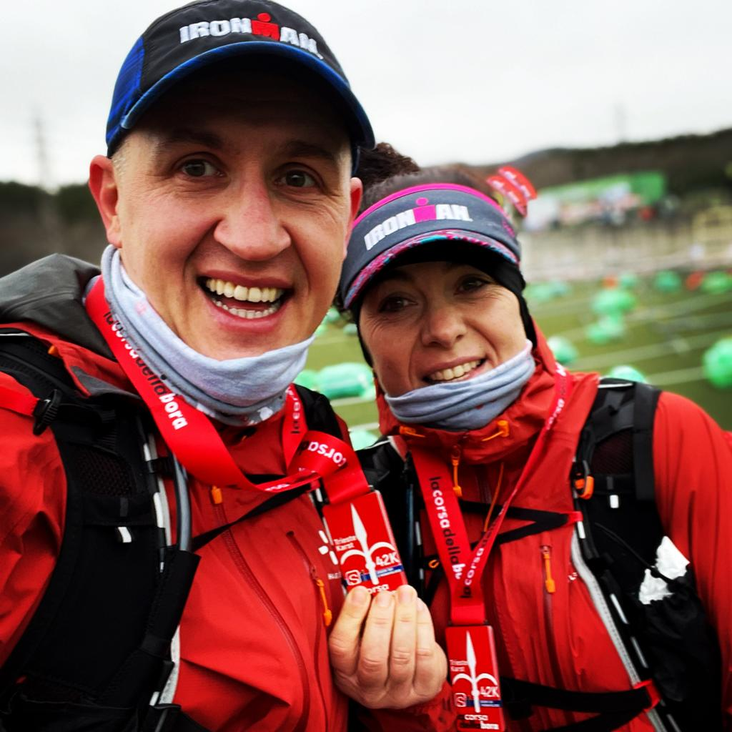 S1 Trail - La Corsa della Bora - medaglia elena padovese