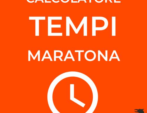 Previsione del tempo di gara nella corsa