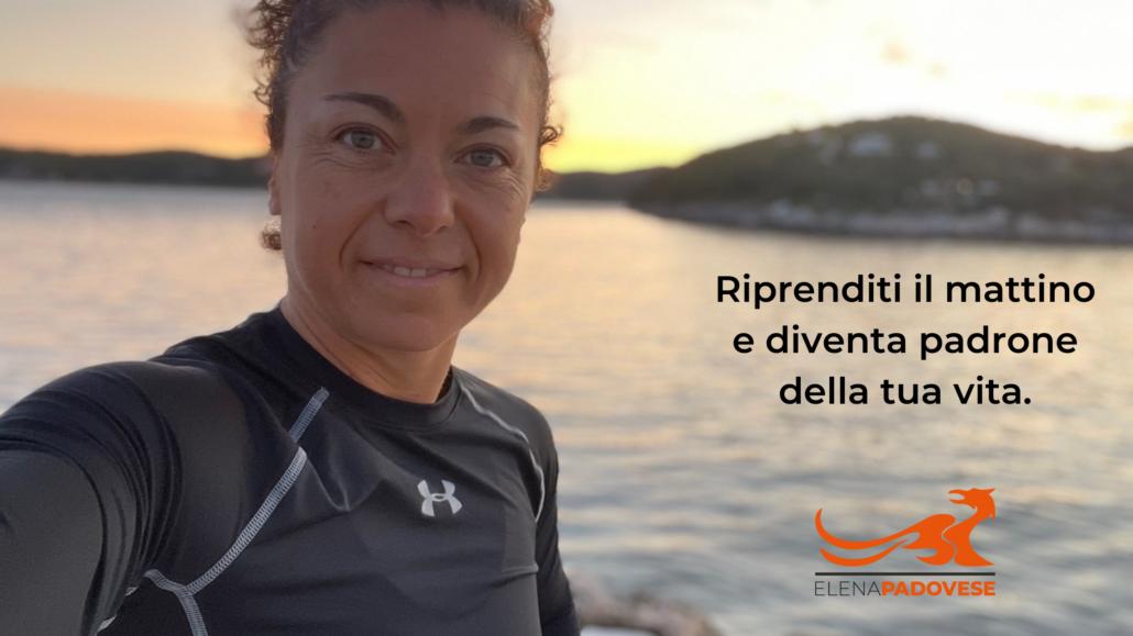 Elena Padovese - correre all'alba